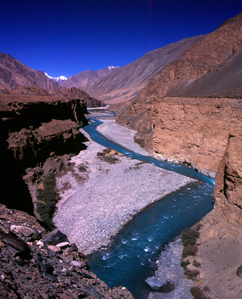 The Yarkand River, Xinjiang
