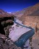 The fabled Yarkand river near Yilik It in Chinese TurkestanNikon FM2, 24mm, Fuji Velvia