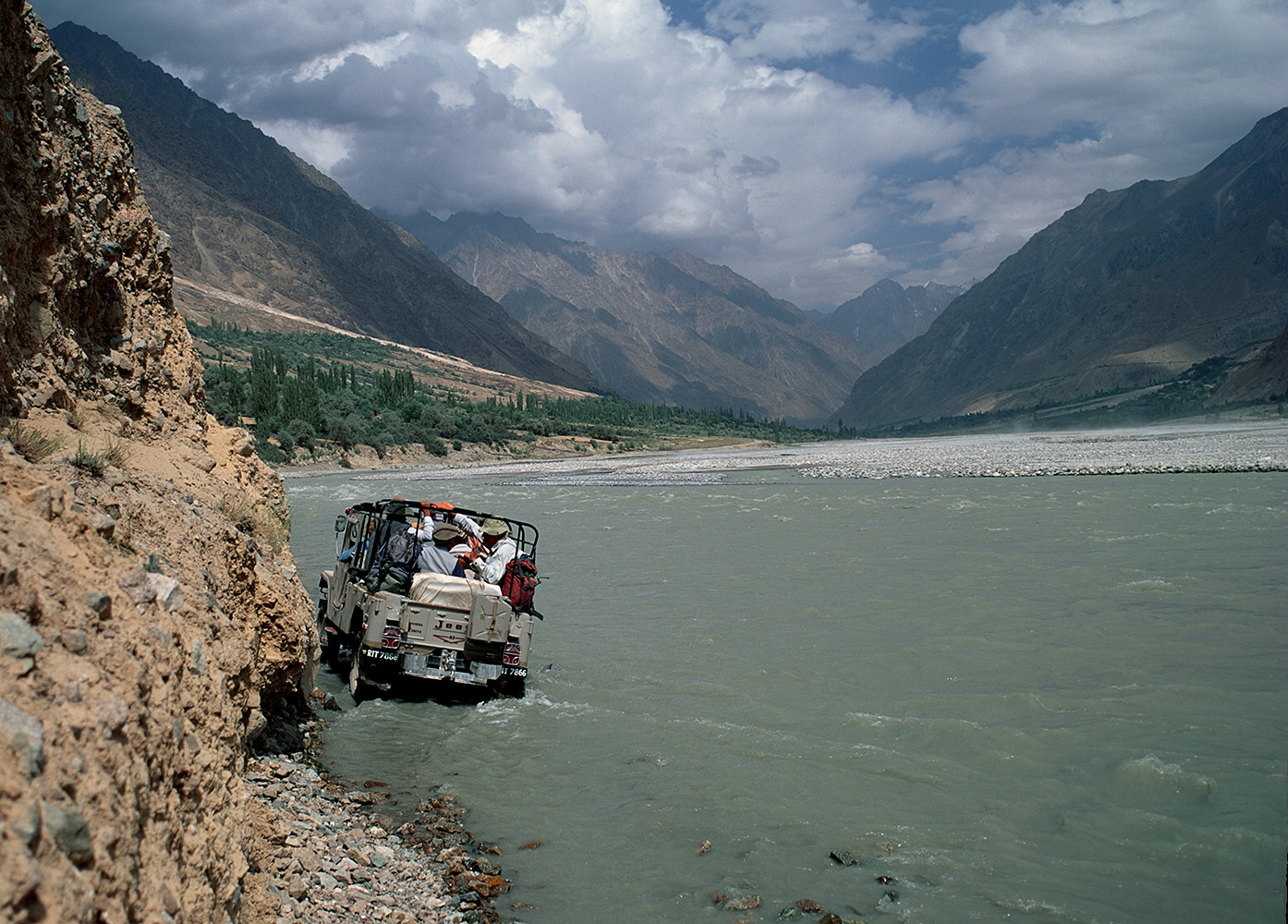 In winter, there is a servicable jeep-road up the Yarkun to Lasht and beyond. In summer, the river has other ideas!NWFP, PakistanBronica ETRSi, 50mm, Fuji Velvia