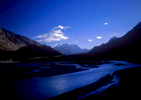Leaving the village of Lasht early in the morning to beat the sun and rising river levels, this image captures the delicious atmosphere of these valleys before the scorching heat of the sun turns them into furnaces.Bronica ETRSi, Fuji Velvia