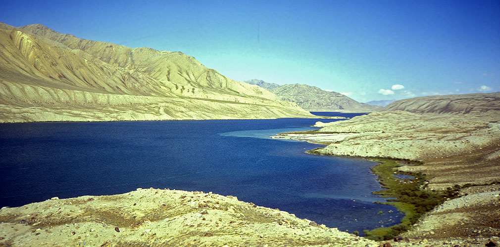 In the Pamir mountains of TajikistanOlympus AF Twin, 35mm, Kodachrome