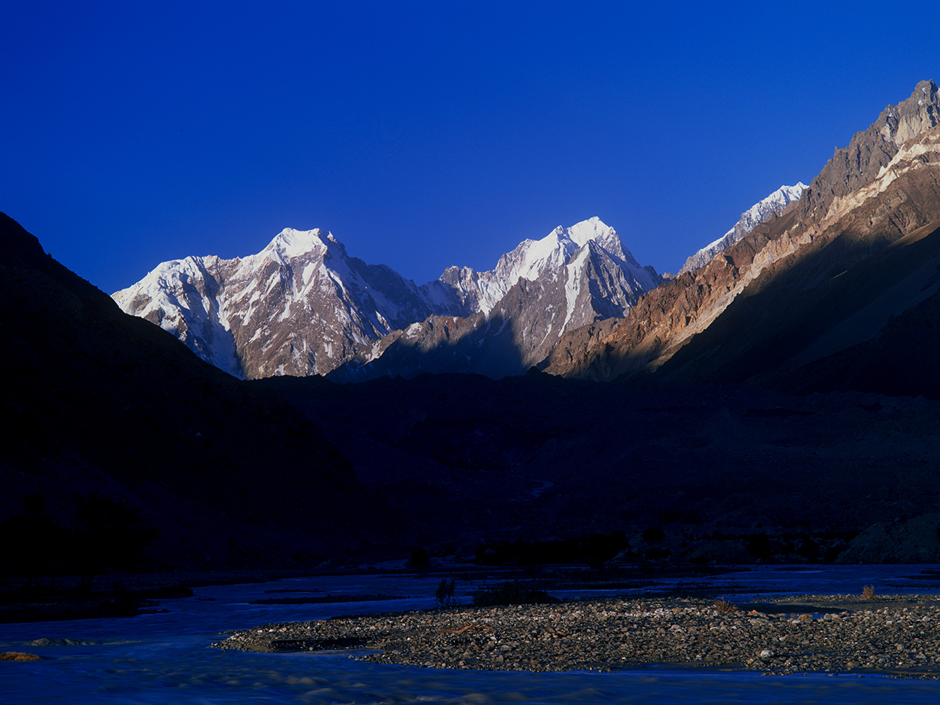 From Zuda Khun in the upper Chapursan valley, Hunza