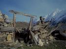 A ruined summer settlement