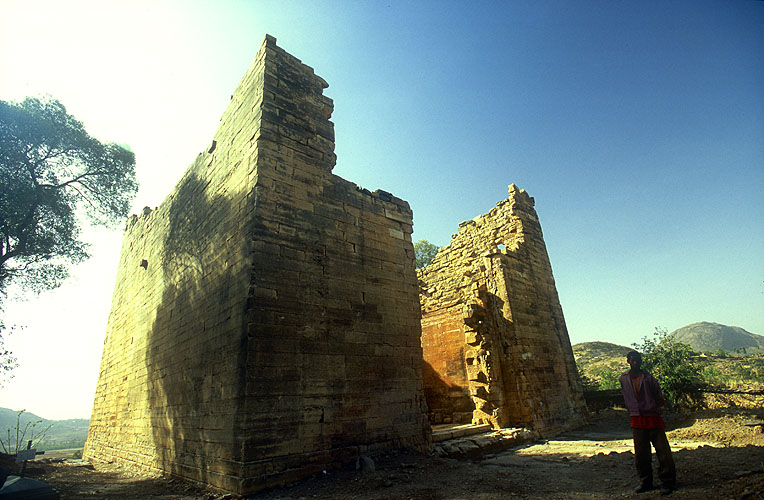 The ruins of a once magnificent temple or mausoleum, dating from the 5th century BCNikon F5, 17-35mm, Fuji Velvia 100