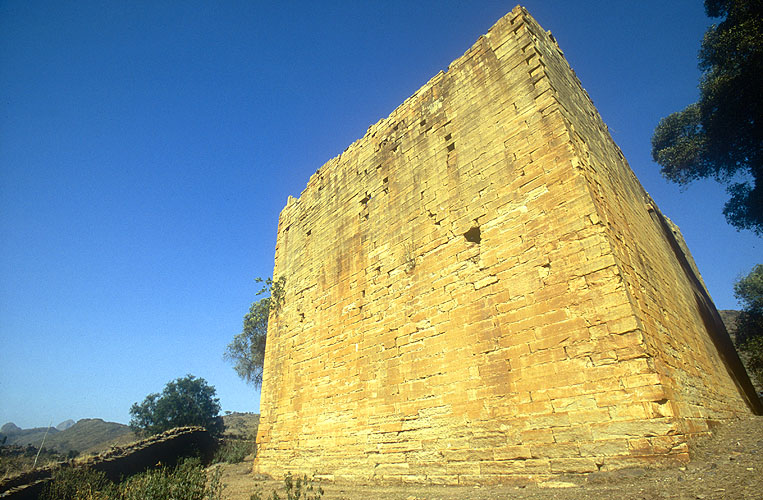 The rear wall of this magnificent edificeNikon F5, 17-35mm, Fuji Velvia 100