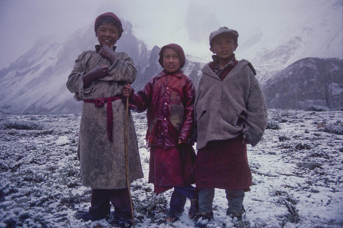 Zanskar, IndiaCanon A1, 50mm, Kodachrome
