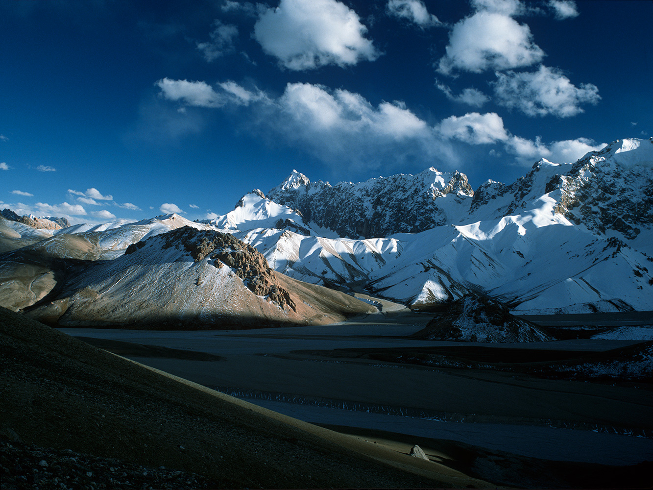 These mysterious flatlands lie immediately south of the Shimshal Pass
