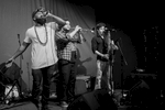 """April 28th 2017The 9-piece deliver infectious West African vibes from Ghana via Sheffield, with diverse origins conflating to whip up their signature heady brew of afrobeat, soul, funk and reggae otherwise dubbed """"Afro-fusion"""".They've played Glastonbury main stages as well as many other UK and European festivals and venues. Including radio play all over the world as well as BBC radio 6.Another coup for the Upfont!"""