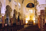 The Roman Catholic Archdiocese of San Francisco, owner. Rev. Etienne Siffert, Pastor; Steven Bowers, Archdiocese Building Comnmittee.CAMPOAMOR architects - Roberto & Halcyon Campoamor, principals, with David Finn, AIA, project and construction management, consulting architect.URS Greiner, Inc., structural engineers. Joe Baldelli, engineer and project team leader, with Larry Seaman, architect.H&M Mechanical Group, mechanical engineer.Pete O. Lapid & Assoc., electrical engineer.Treadwell & Rollo, Inc., geotechnical engineer.Page & Turnbull, historic preservation consultant.Luminous Environments, lighting consultant.Schoenstein & Co., organ consultant.Lesley Bone, M.H. De Young Memorial Museum, object conservator.Paoletti Associates, acoustical engineer.Mayta & Jensen, general contractors. Oliver Dibble, project manager; Wayne Sanders, jobsite superintendent. www.maytajensen.com