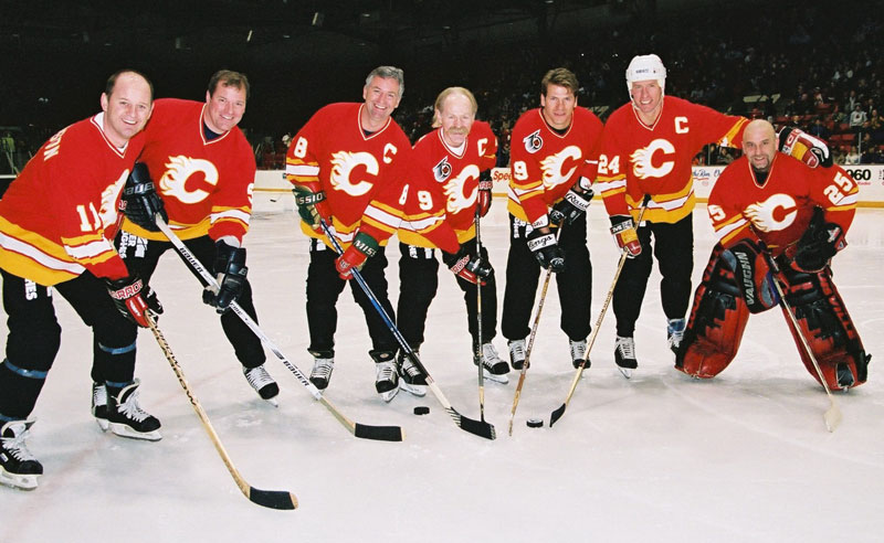 Calgary Flames Alumni Team