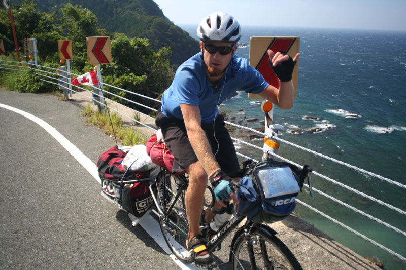 Much of the ride afforded beautiful views of the rugged coast line.