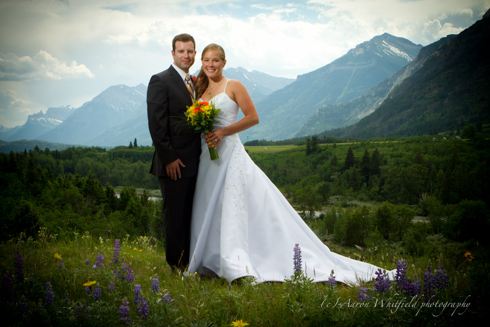 Waterton Lakes National Park Wedding Photography by Aaron Whitfield.