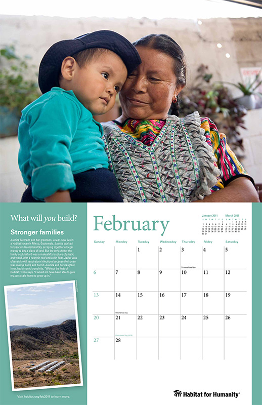 Habitat for Humanity International Calendar