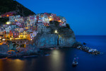 Manarola, one of the five towns of the Cinque Terre area of Italy.
