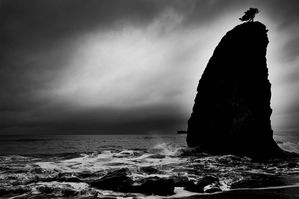 A storm at Rialto Beach.