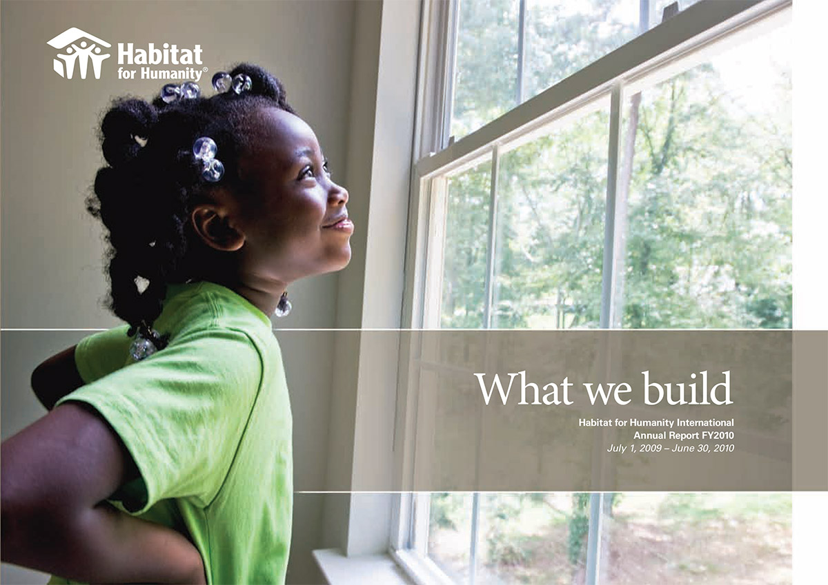 Annual Report, Habitat for Humanity International