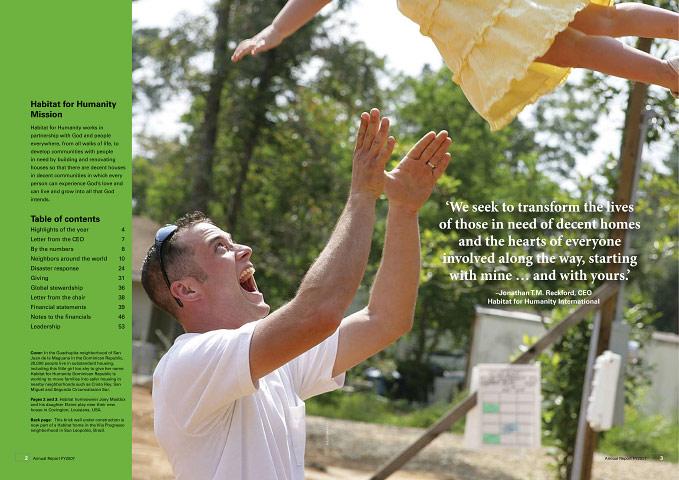 Annual Report, Habitat for Humanity International