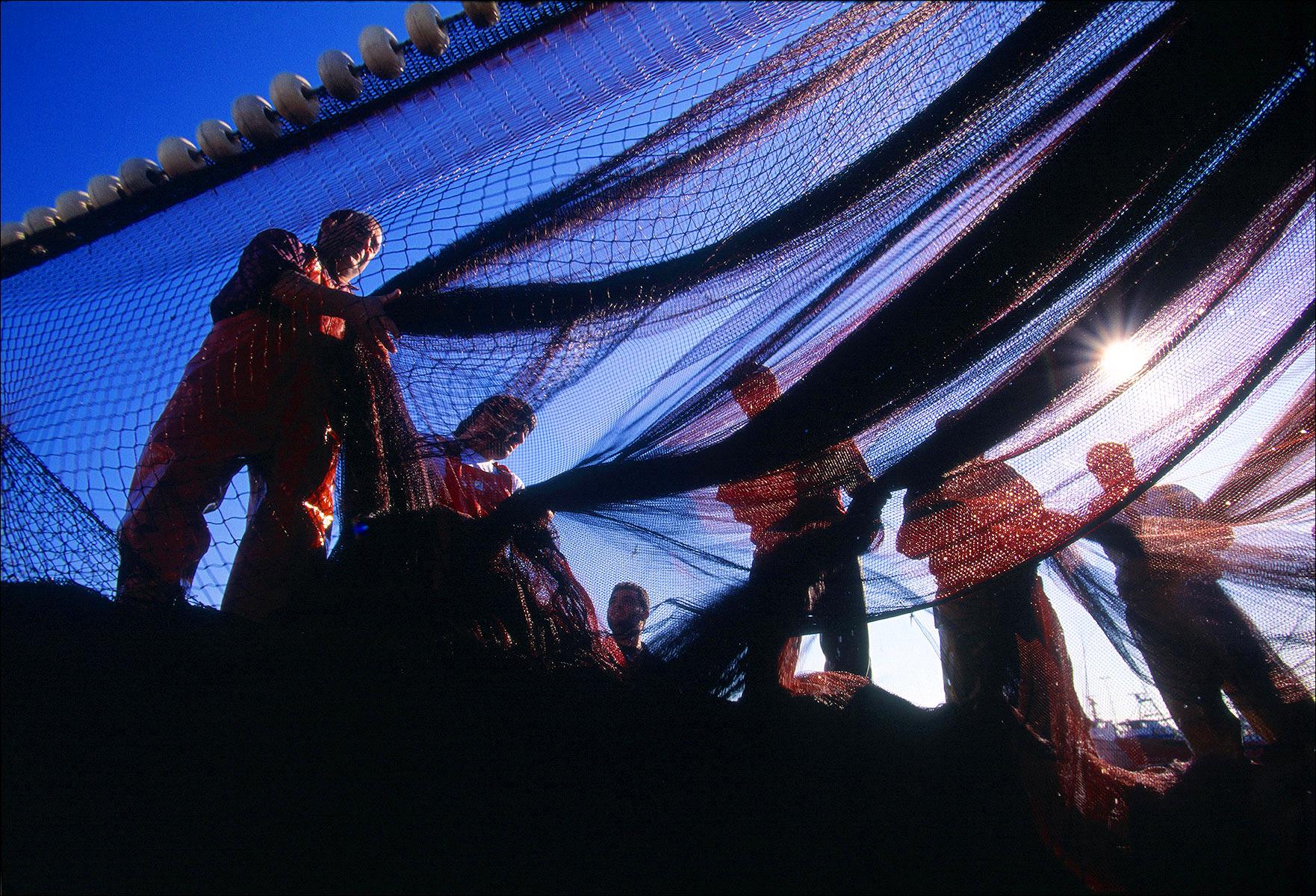 FineArt_09_Fishermen-_-Nets_Barcelona