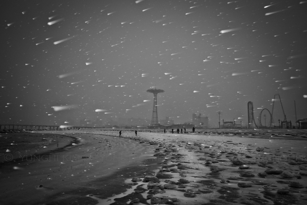 Snow storm. Yunghi Kim ©2015