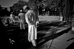 9/24/15 NY Neighborhood profiles series.  Jackson Heights Queens. Travers Park, morning Eid prayer.  © © 2015 Yunghi Kim/Contact Press Images.