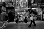 10/11/15 NY Neighborhood profiles series.  Jackson Heights Queens. 74 Street, Little India shopping street. © 2015 Yunghi Kim/Contact Press Images.