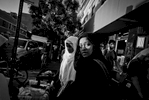 9/23/15 NY Neighborhood series. Jackson Heights Queens. Shopping from street vendors. © 2015 Yunghi Kim/Contact Press Images.