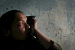 Widow Miriam, Afghanistan 2004.