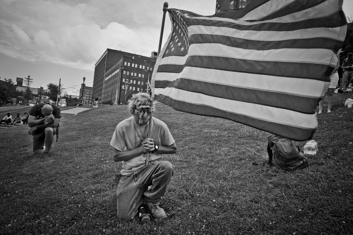The Republican National Convention week, Cleveland Ohio, 2016. ©2017 Yunghi Kim/ Contact Press Images