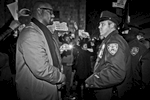 Dec 3, 2014. NYC. Eric Garner Protest.  Grand jury declines to indict a New York City police officer in the death of Eric Garner. Near West Side Hwy. ©2017 Yunghi Kim/ Contact Press Images