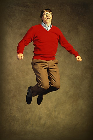 I said, {quote}jump!{quote}He said, {quote}How high?{quote}(Yeah, right.)