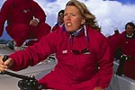 Champion SailorFirst woman to sail on an America's Cup team.And one of the best known sailors in the world.