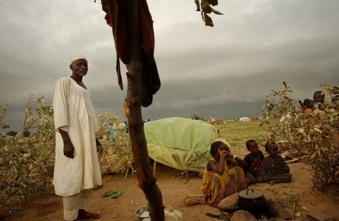 The government has exploited the rising tension between the impoverished African villagers who form the rebels' base and the nomadic Arab herders who have been competing with them for what remains of the region's arable land after decades of deforestation.
