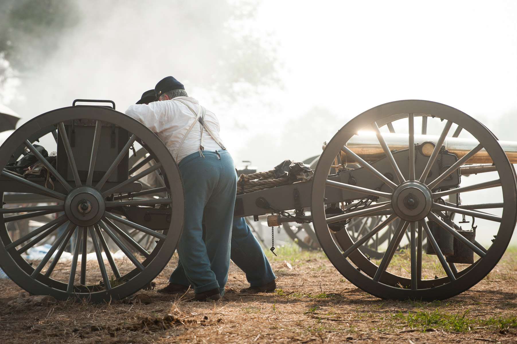 Manassas Reenactment Battle