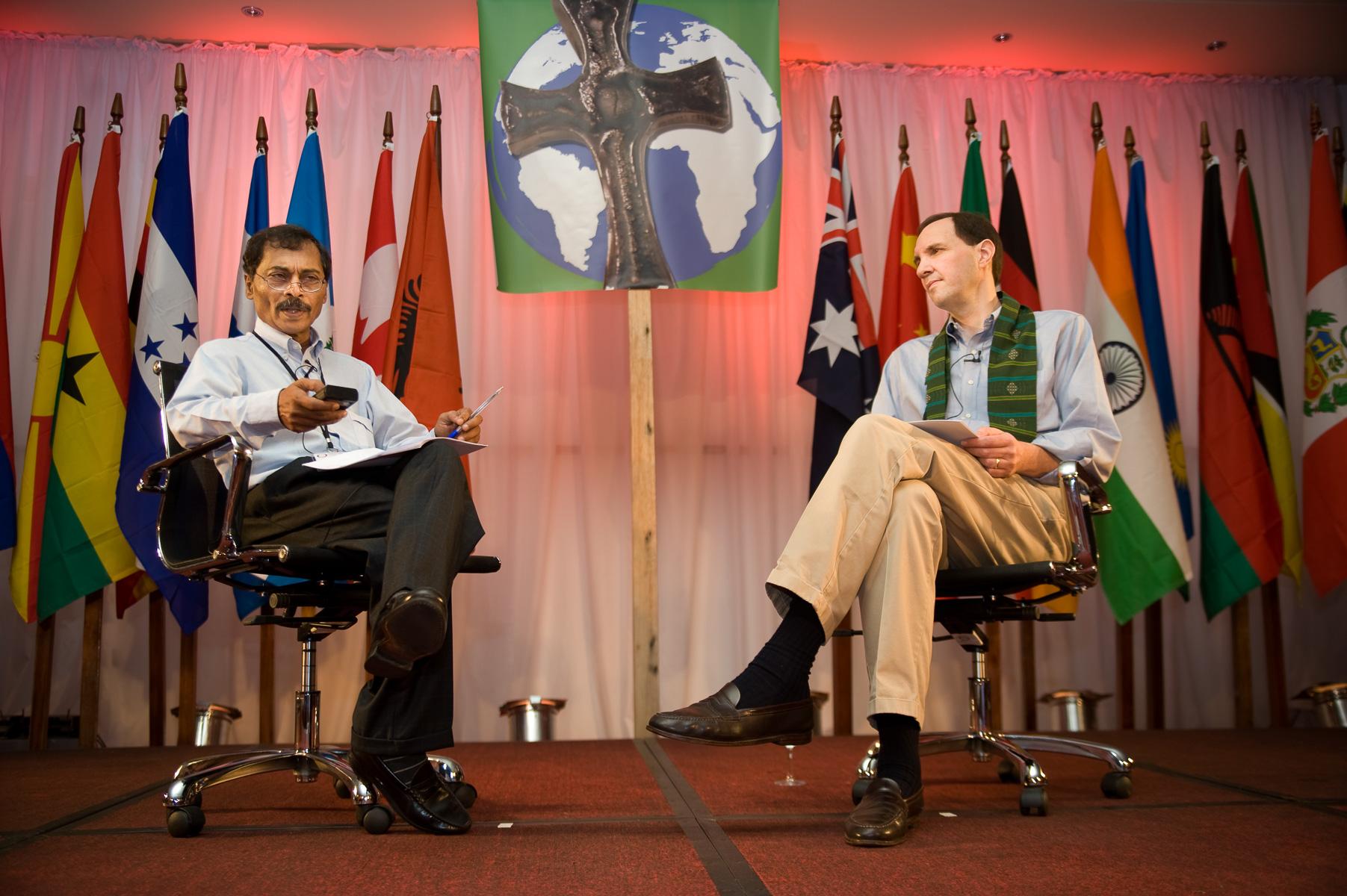 The Opportunity International Network Leadership Conference in Kampala Uganda. March 2009. ©Vanessa Vick
