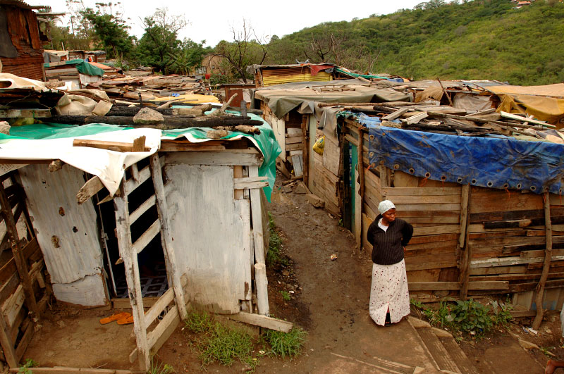 Sending what some call an ominous signal to this nation's leaders, South Africa's sprawling shantytowns have begun to erupt, sometimes violently, in protest over the government's inability to deliver the better life that the end of apartheid seemed to herald a dozen years ago.