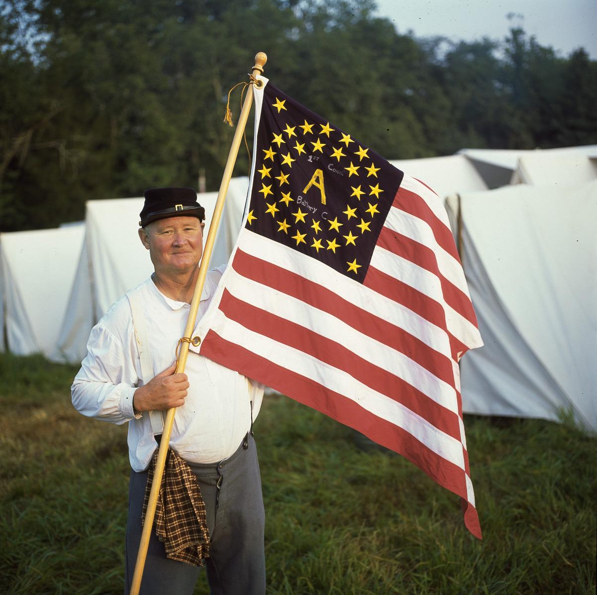 Flag-Soldier