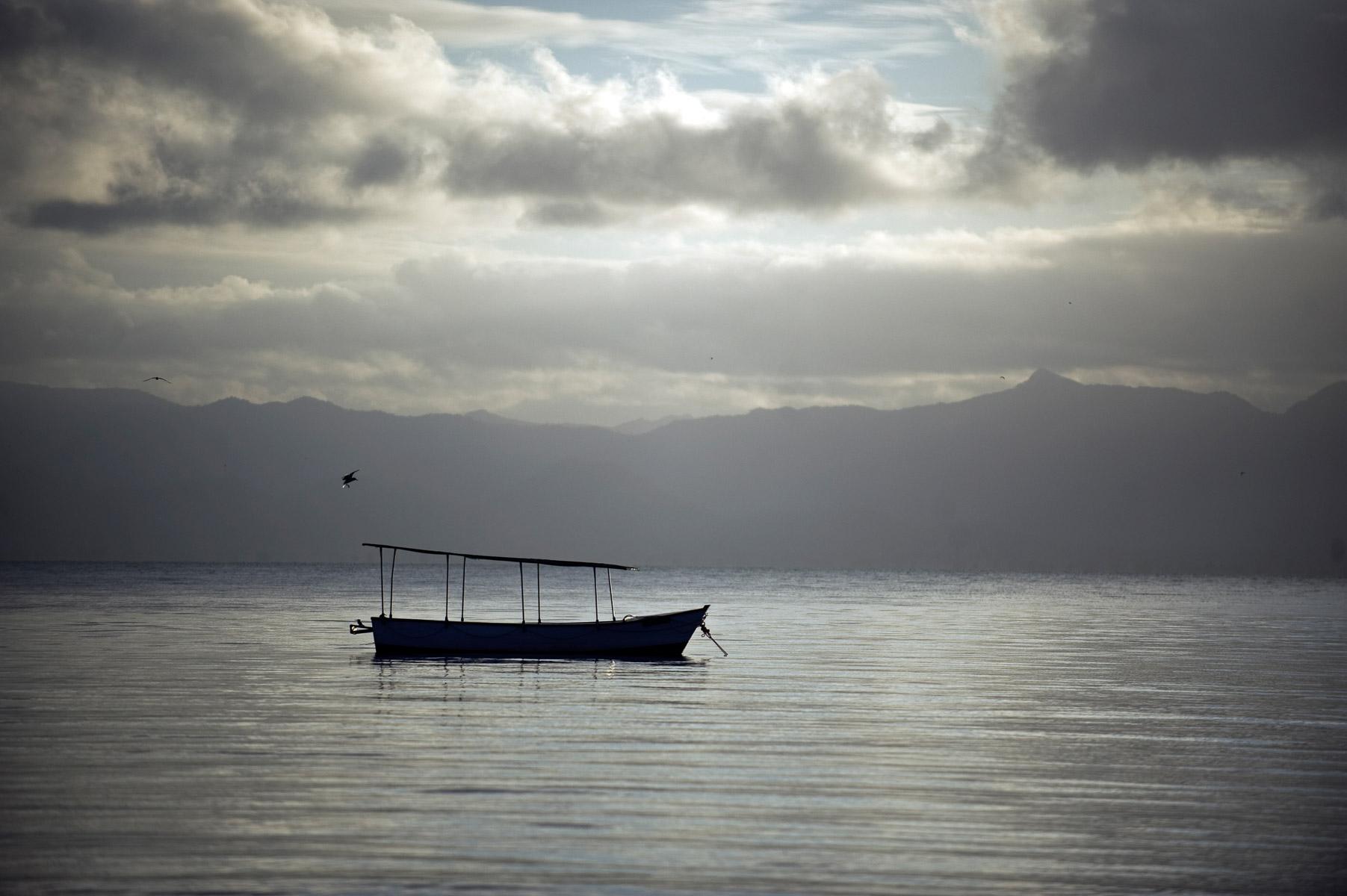Lake Malawi in Nkopola, Malawi. 4/9/2009. ©Vanessa Vick