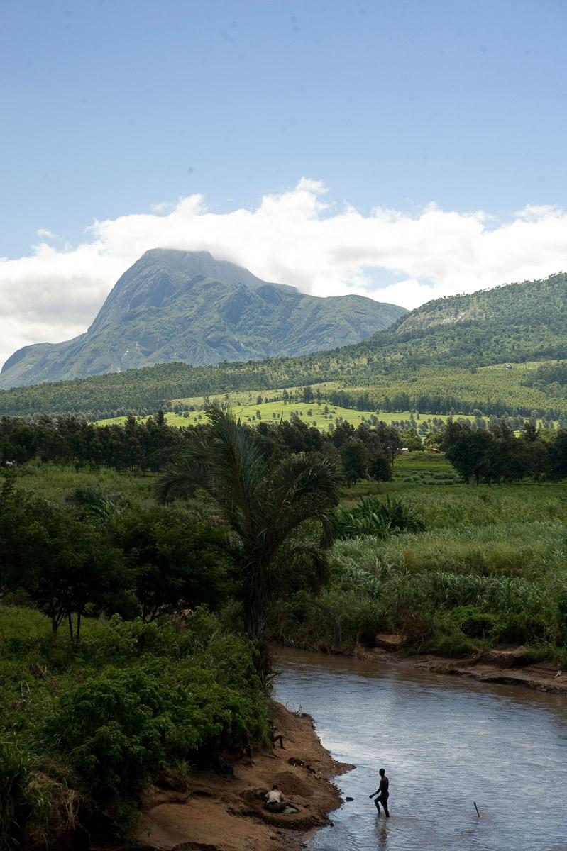 Views of Mount Mulanje, Malawi. 4/7/2009. ©Vanessa Vick