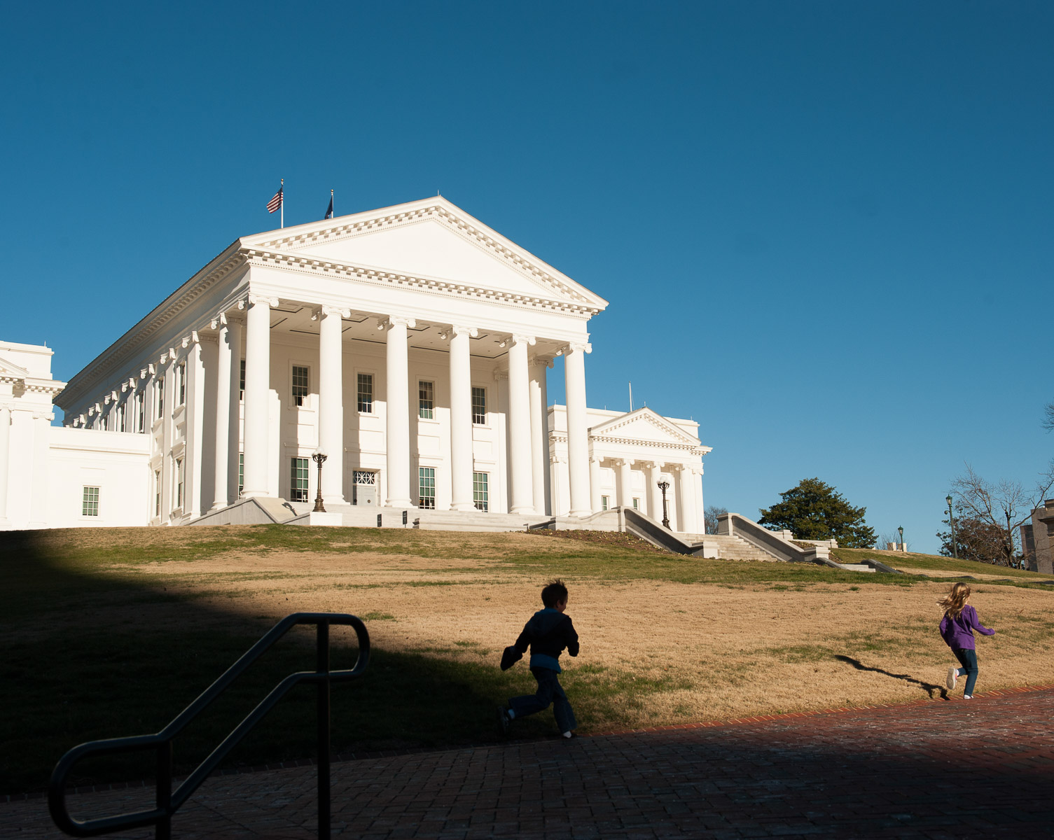 The State Capitol Building in Richmond, Virginia. January 19, 2012. PHOTOGRAPH BY VANESSA VICK FOR THE NEW YORK TIMES