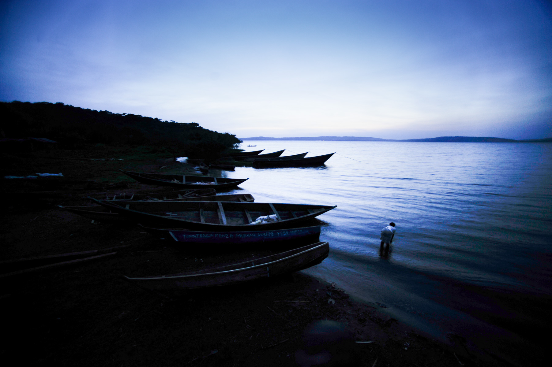 Lake Victoria in East Africa borders three countries and is one of the largest lakes in the world. Overfishing and climate change are rapidly threatening the health of the lake which millions of people depend on for survival. Tanzania.