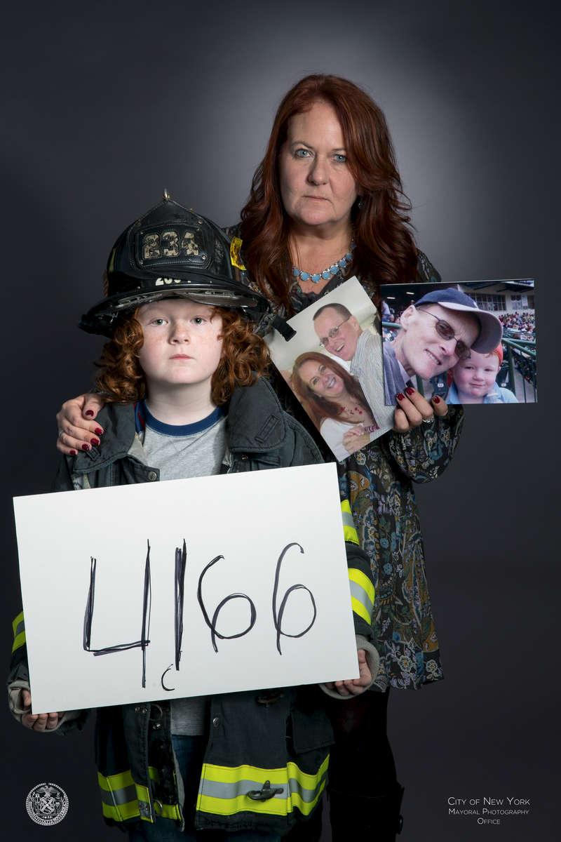 4,166+: number of responders and survivors who have a certified 9/11 related cancerJohn McNamara worked more than 500 hours on the pile. John was diagnosed with colon cancer in 2006 when his wife, Jennifer, was 4 months pregnant. John died in 2009.He is survived by Jennifer McNamara and their son Jack.John was part of the search and rescue operation for three weeks following the attack. He continued to work at the site twice a week until he retired in February, 2002. John suffers from PTSD, GERD, and heart problems.