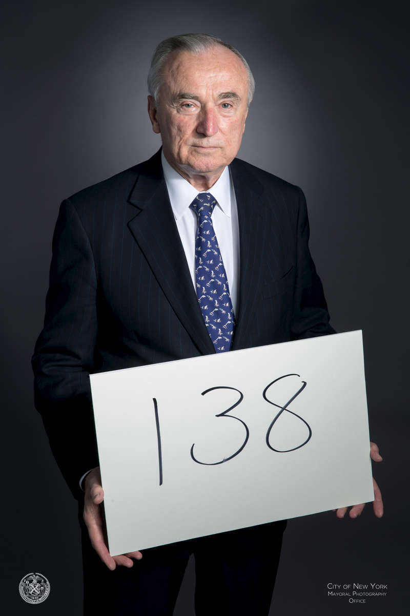 138: NYPD officers deceased from 9/11-related illnessesWilliam J. Bratton is the 42nd Police Commissioner of the City of New York.