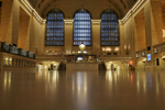 Grand Central Terminal remained closed on   Tuesday morning on January 27, 2015. The New York City subway system and Metro North service was shut down last night ahead of a predicted blizzard. CREDIT:  Michael Appleton for The New York Times