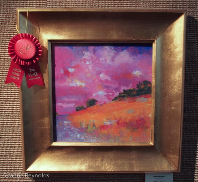 12x12{quote} pastel$425Awarded Second Place in Landscapeat the Austin Pastel Society Annual Show