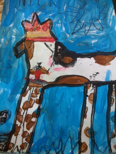Castles, Kings and Queens Laguna Gloria Art School, ages 4-5