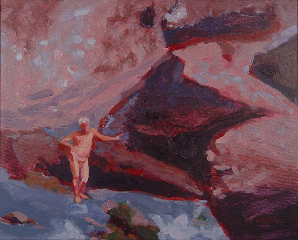 16 x 20{quote} oil on canvasRed Sand Beach, Hana, Maui© S'zanne Reynolds {quote}The artist formerly known as Holly Trapp{quote}Private Collection, Dallas, TX© S'zanne Reynolds, {quote}The artist formerly known as Holly Trapp{quote}
