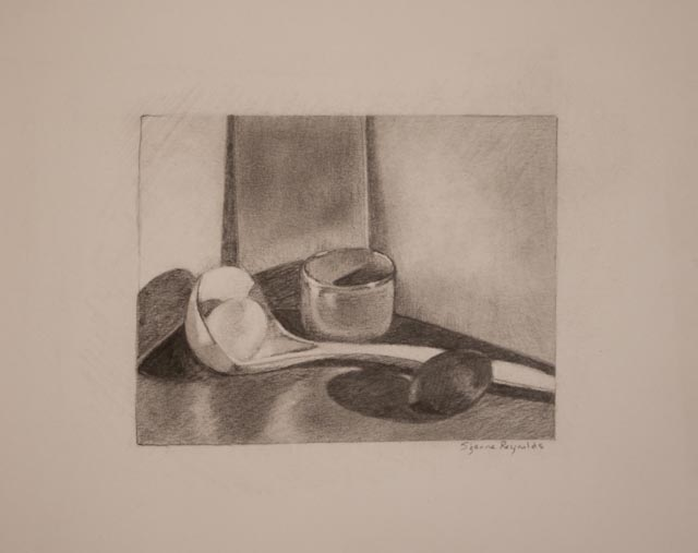 4.25 x 5.25{quote} graphite on paper© S'zanne ReynoldsPrivate Collection in Austin, TX