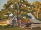 9x12{quote} oil plein air© S'zanne ReynoldsFord Commons Ranch in Austin, TexasPrivate Collection of the ArtistThis piece took a return trip to complete...which is unusual for me, but the subject was complex and needed the extra attention. Everyone needs a Texas barn in their collection!
