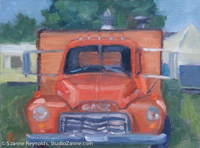 10x12{quote} oilLivingston Farmer's Market© S'zanne ReynoldsPrivate Collection in Idaho Falls, Idaho