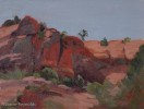 8x6{quote} oil, plein airBehind the Cathedral Rock.Red Rock State Park, Sedona, AZ